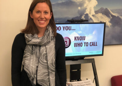 Jessica Thorndike, Customer Service Director.  Phoenix Vision