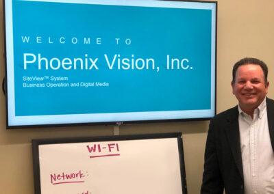 Mitch McKinnon, VP Sales & Marketing, Phoenix Vision